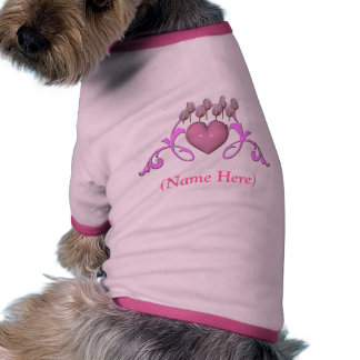 Personalized Your Pets Name Cute Dog T-Shirt