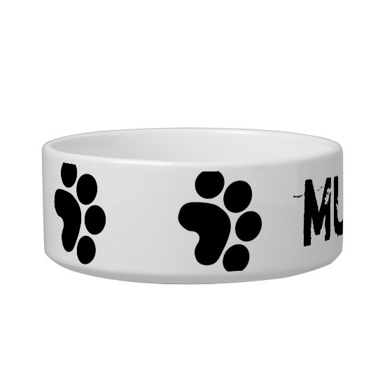 personilized dog bowl