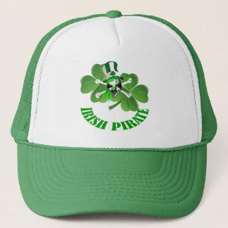 Personlalized  Irish pirate St Patrick's day Trucker Hat