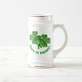 Personlalized  Irish St Patrick's day Beer Stein