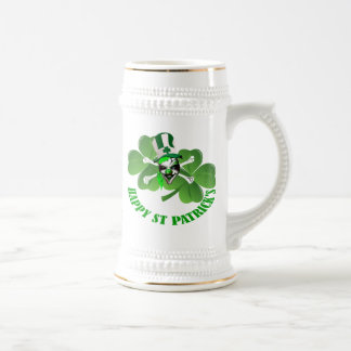 Personlalized  St Patrick's day Beer Stein