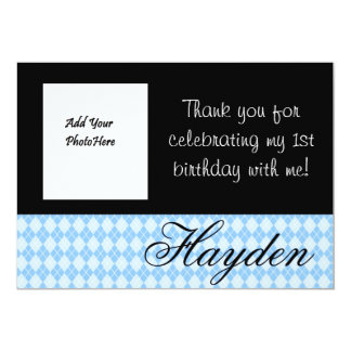 Personlized Thank You Card