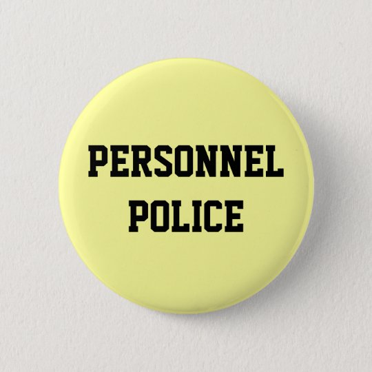 Personnel Police - Human Resources Department 6 Cm