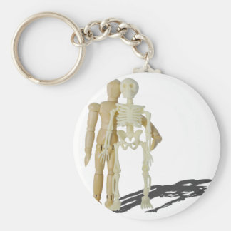PersonStandingNextToSkeleton070315.png Basic Round Button Key Ring