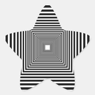 Perspective illusion sticker