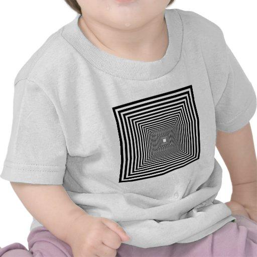Perspective illusion tshirts