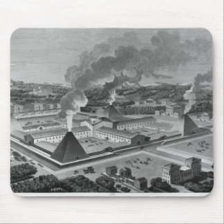 Perspective view of a canon forge mouse mat
