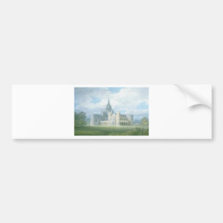Perspective View of Fonthill Abbey from the South Bumper Sticker