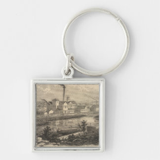 Persse and Brooks' Paper Works Key Ring