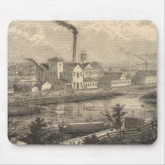 Persse and Brooks' Paper Works Mouse Mat