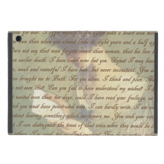 Persuasion Letter Covers For iPad Mini