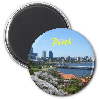 Perth 6 Cm Round Magnet