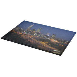 Perth, Australia. View of downtown Perth from Cutting Board