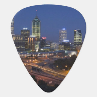 Perth, Australia. View of downtown Perth from Guitar Pick