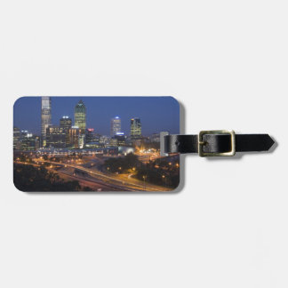 Perth, Australia. View of downtown Perth from Luggage Tag