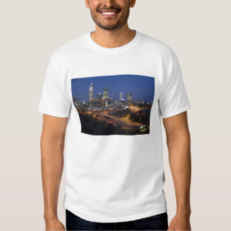 Perth, Australia. View of downtown Perth from T Shirt