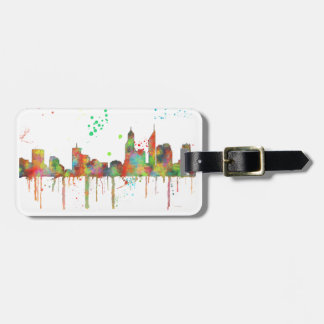 PERTH, WA SKYLINE LUGGAGE TAG
