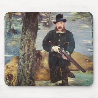 Pertuiset, Lion Hunter, 1881 Mouse Pad