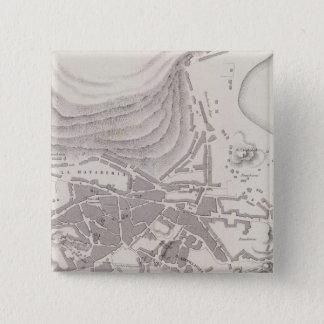 Peru 10 15 cm square badge