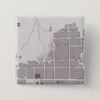 Peru 11 15 cm square badge