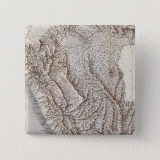 Peru 12 15 cm square badge