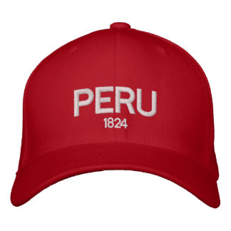 Peru 1824 Adjustable Hat