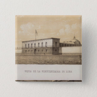 Peru 18 15 cm square badge