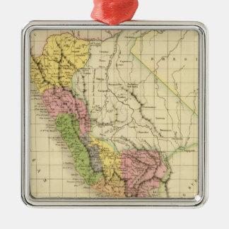 Peru 20 christmas ornament
