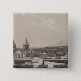 Peru 3 15 cm square badge