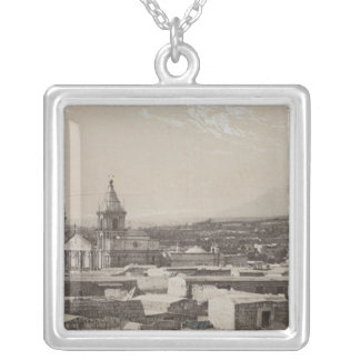 Peru 3 silver plated necklace