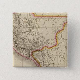 Peru 4 15 cm square badge