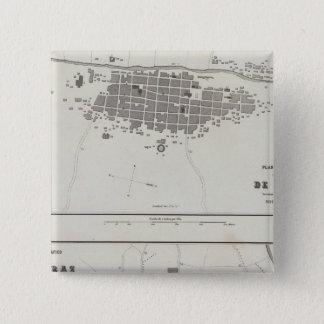 Peru 7 15 cm square badge