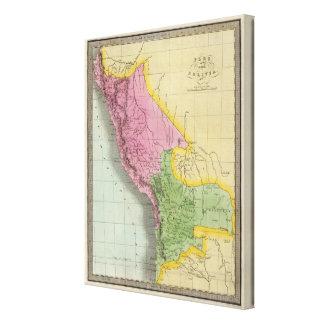 Peru and Bolivia 3 Canvas Print