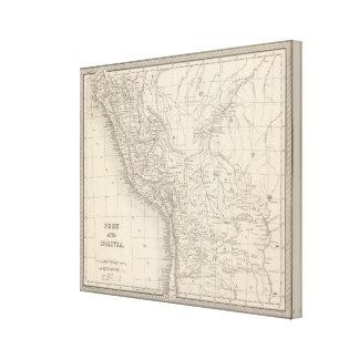 Peru and Bolivia 4 Canvas Print