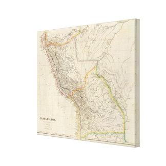 Peru and Bolivia Canvas Print