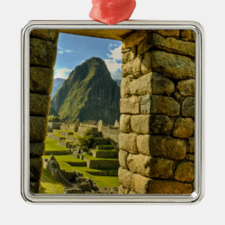 Peru, Andes, Andes Mountains, Machu Picchu, Christmas Ornament