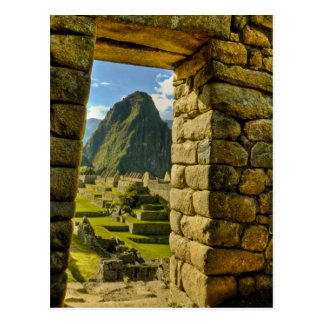 Peru, Andes, Andes Mountains, Machu Picchu, Postcard