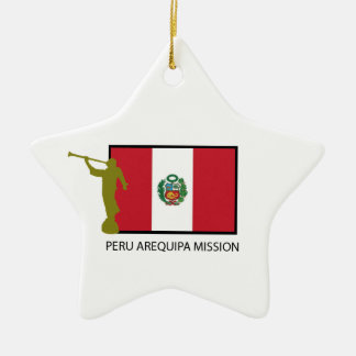 PERU AREQUIPA MISSION LDS CTR CHRISTMAS ORNAMENT
