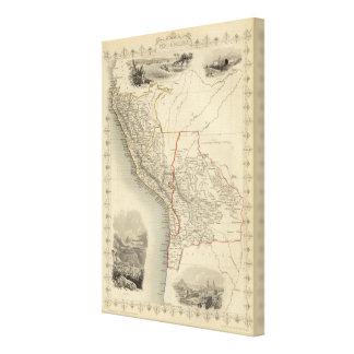 Peru & Bolivia Canvas Print