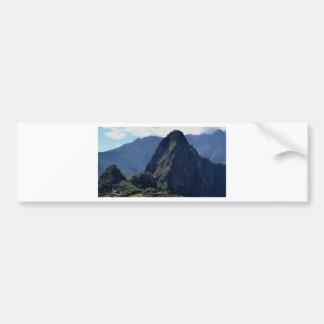 PERU CAR BUMPER STICKER