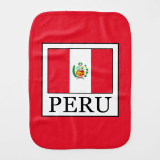 Peru Burp Cloth