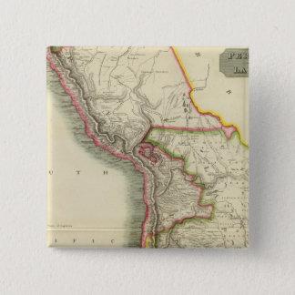 Peru, Chili, La Plata 2 15 Cm Square Badge