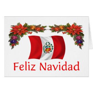 Peru Christmas Card