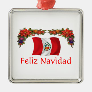Peru Christmas Christmas Ornament