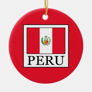 Peru Christmas Ornament