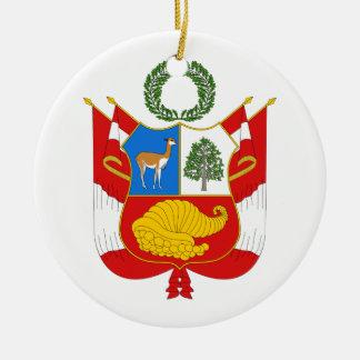 Peru Coat of Arms Ornament