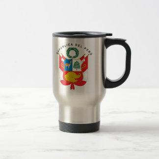Peru Coat Of Arms Travel Mug