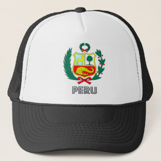 Peru Coat of Arms Trucker Hat