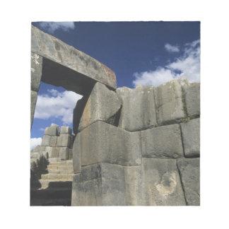 Peru, Cuzco, Sacsayhuaman fortress, good example Notepad