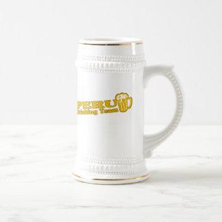 Peru Drinking Team Beer Stein
